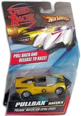 Hot Wheels Mattel Speed Racer Pullbax Racer X