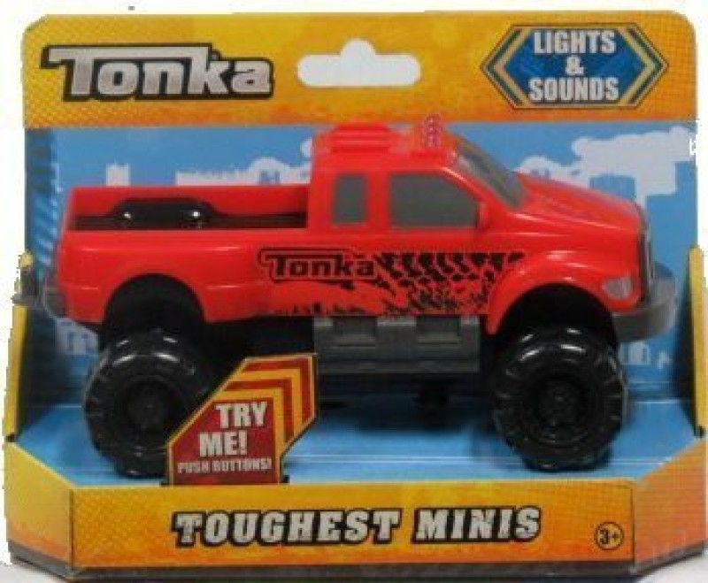 Funrise Tonka Toughest Minis Extreme Offroad Truck(Red)