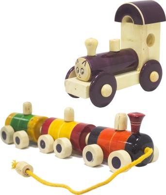 Rainbow Gate Thread Pulling Train Sets