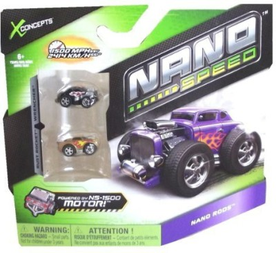 Spin Master Nano Speed Nano Rods Cars 2 Pack