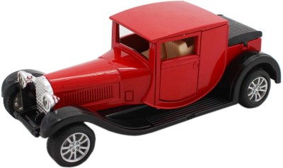 Tootpado Classic Vintage Metal Toy Car With Pull Back Mechanism - Playing Cars For Kids