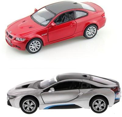 i-gadgets Kinsmart BMW i8 Silver and BMW M3 Red