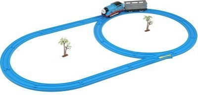 Mayatra's Electric Toy Train With Track Set And Amazing Sound(Multicolor)
