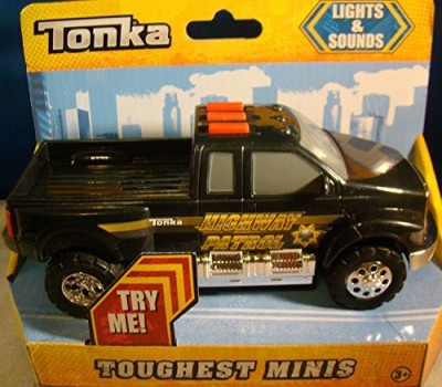 Tonka Toughest Minis Lights & Sounds Highway Patrol Pickup