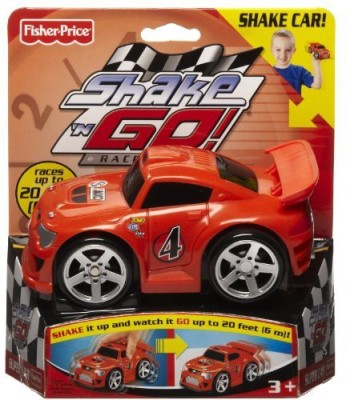 Fisher-Price Shake & Go Racers Super Car