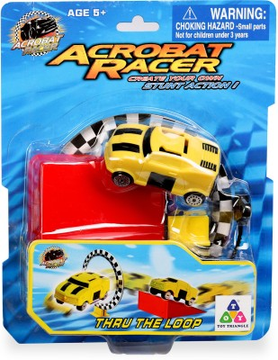 Toy Triangle Acrobat Racer Thru The Loop