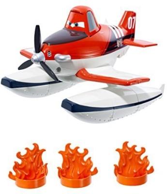 Mattel Disney Planes Fire & Rescue Scoop & Spray Firefighter Dusty