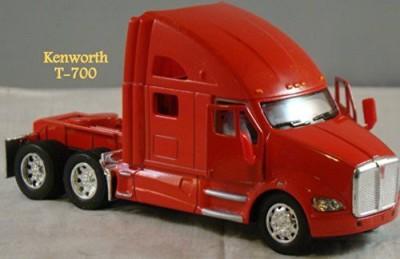 Kenworth T700 Metal Die Cast Collectible Tractor Semi Truck 168