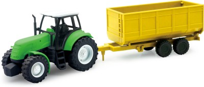 New-Ray 1:32 Die Cast Tractor W/ Trailer