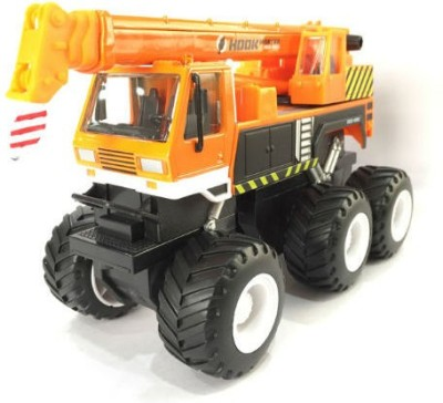 Maisto Builder Zone Quarry Monsters Crane Orange