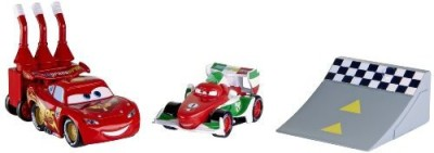 Mattel Cars 2 Agents Battle Pack Lightning Mcqueen & Francesco