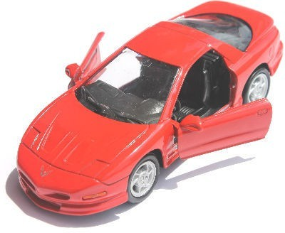 Welly Pontiac 95 Firebird Pullback Action Car Red