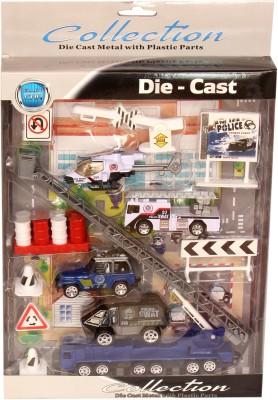 Homeshopeez Diecast Metal Set - Plc