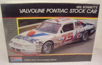 Monogram 2787 Nascar Neil Bonnett,S Valvoline Pontiac Stock Car