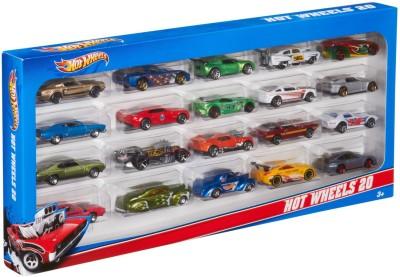 Hot Wheels Mattel H7045 Hot Wheels 20 Car Gift Pack (Colors and Designs May Vary)