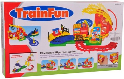 Just Toyz Train Fun Electronic Flip Track Action
