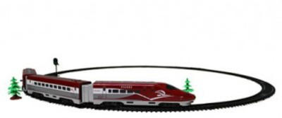 Emob High Speed Electric Multiple Unit Tigers Bullet Train Track Set for Kids