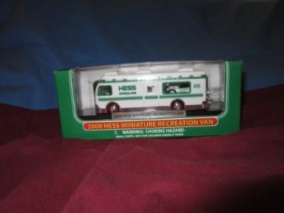 Hess 2008 Miniature Recreation Van