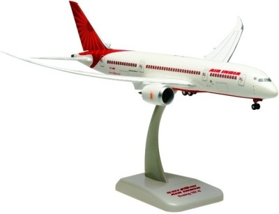Hogan Wings Aircraft scale model, Boeing 787-8 Air India N.L. INFLIGHT WINGS, Scale 1:200 (with Stand & gear)
