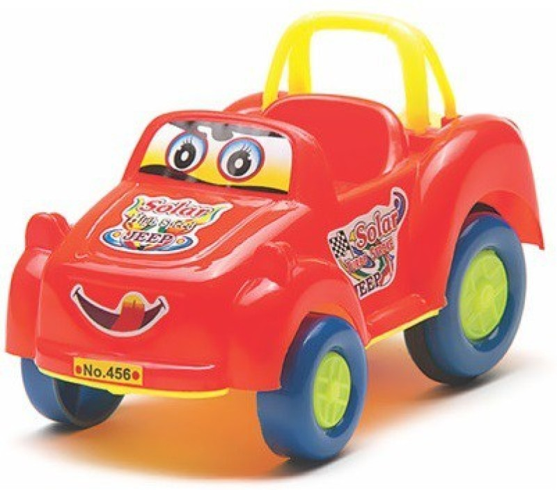 Azad Industries Solar Car(Red)
