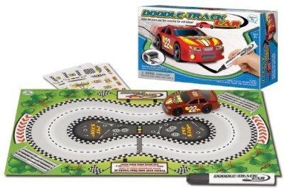 Daydream Toy Doodletrack Car Set Assorted Colors
