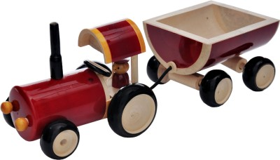 Dovetail Push Tractor & Trolley