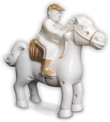 Redhill Majestic White Horse Riding