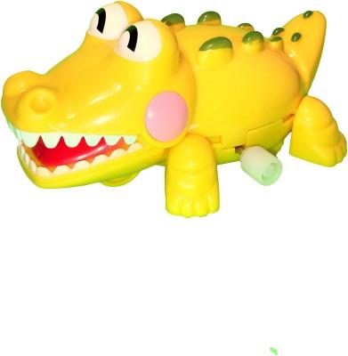Mamaboo Wind-Up Crocodile Crocs - Yellow