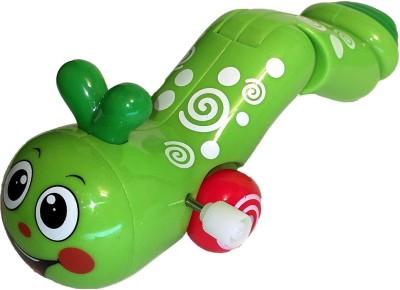 Mamaboo Wind-Up Earthworm - Green