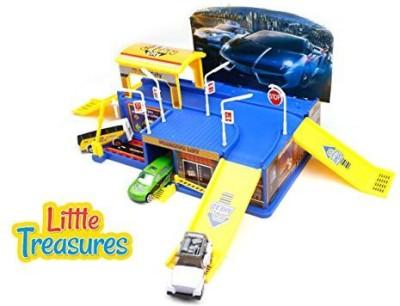 Little Treasures City Parking Garage Educational Toy