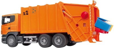 Bruder Scania Garbage Truck Orange