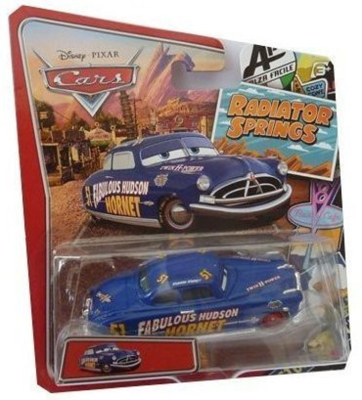 Disney Pixar Carsradiator Springs Classic Exclusive Diecast(Blue)