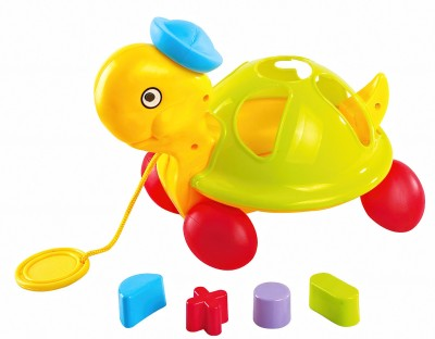 Little Pull Along Shape Sorting Tortoise