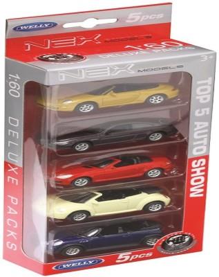 Welly 5pcs Car