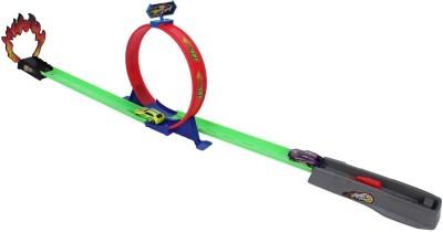 Emob 360 Hot Speed Powerful Spin Loop Way Racing Inertia Power Car With 3 Vehicles
