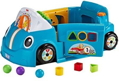 Fisher-Price Laugh & Learn Smart Stages Blue Crawl Around Car