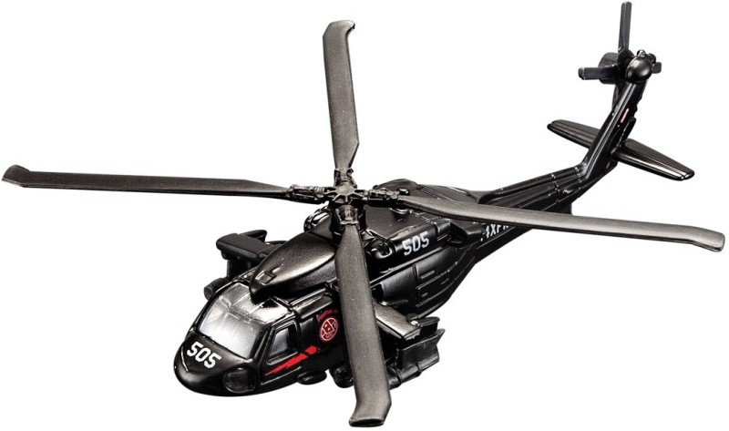 MAISTO Fresh Metal Tailwinds UH-60A BLACK HAWK AEROPLANE TOY MODEL(BLACK)