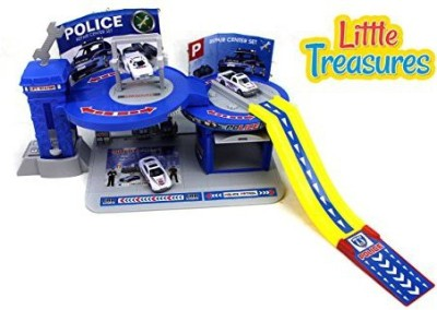 Little Treasures City Police Play Set Toy