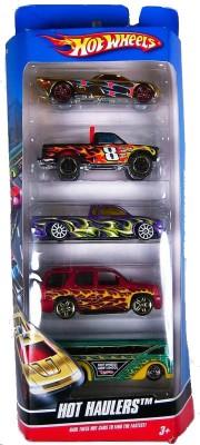 Hot Wheels Hot Haulers Set of Five