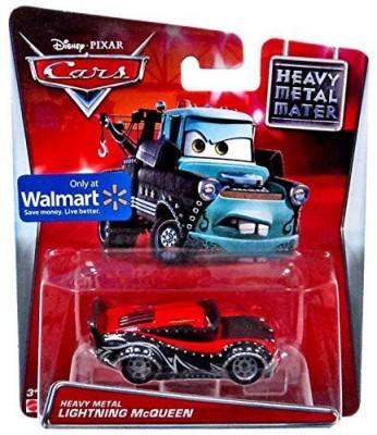 Disney Pixar Cars Heavy Metal Lightning Mcqueen Diecast Car 155