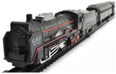 Light Gear Simulating Toy Train Set Batteries Included