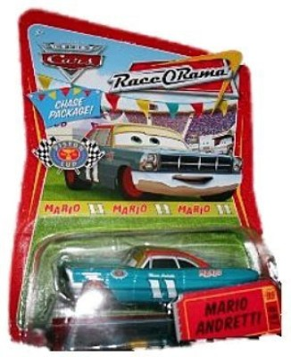 Disney 20082009 Pixar Movie Cars Mario Andretti Race O Rama Chase