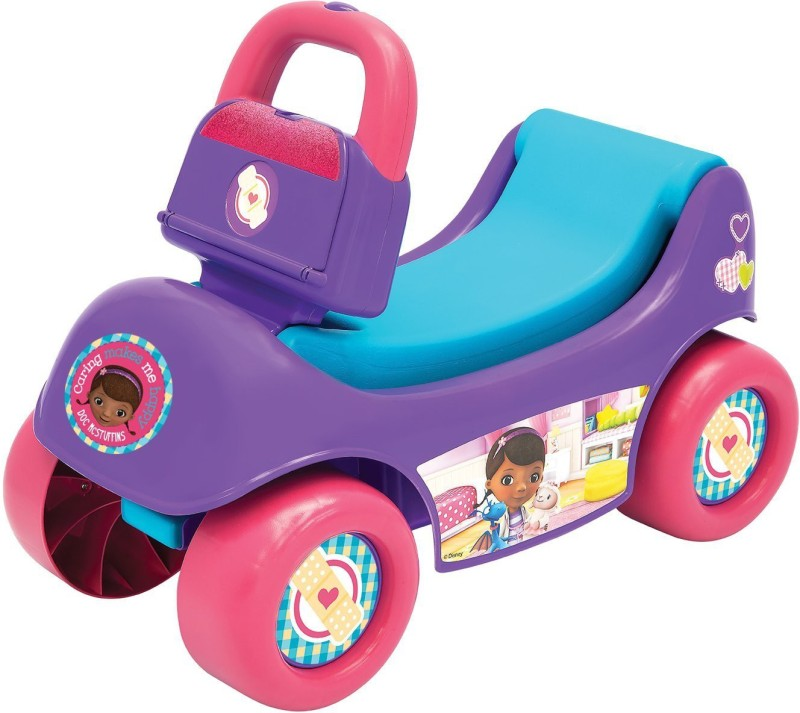 Disney Doc Mcstuffins Happy Hauler(Multicolor)