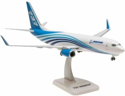 Hogan Wings Boeing 737-800BCF House Colors, Scale 1:200 (with Stand with Gear)