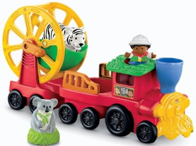 Fisher-Price Zoo Talkers Animal Sounds Train