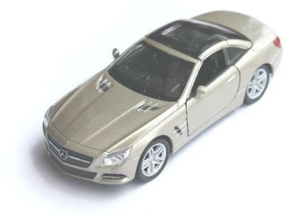 Welly Mercedes Benz SLS AMG Pullback Action Car Beige