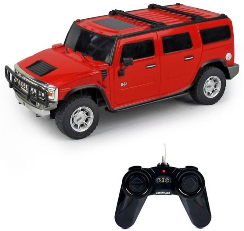 Turban Toys Remote Control Rechargeable Hummer Car(Red)
