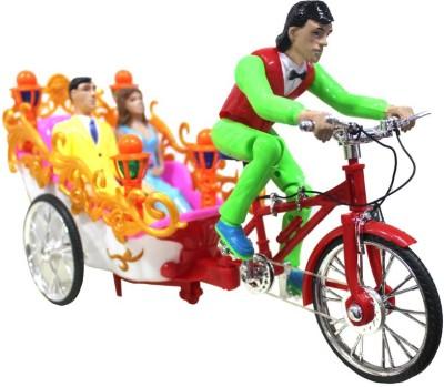 Scrazy indian Rickshaw Happy Day Multicolor