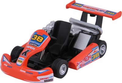 Kinsmart Die-Cast Metal Turbo Gokart