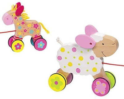 BabyCentre Goki Pull Along Animal Suse